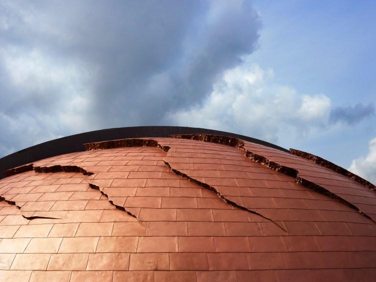 Dettaglio della cupola della Tenuta Castelbuono. Foto: A. Mulas