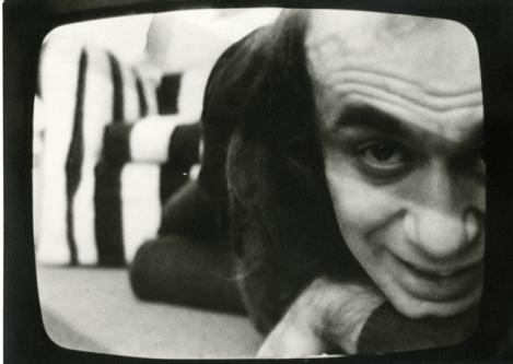 Vito Acconci, Film still from Theme Song, 1973. Courtesy: la Biennale di Venezia