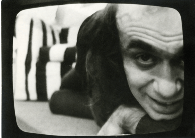 Vito Acconci, Film still from Theme Song, 1973. Courtesy: la Biennale di Venezia
