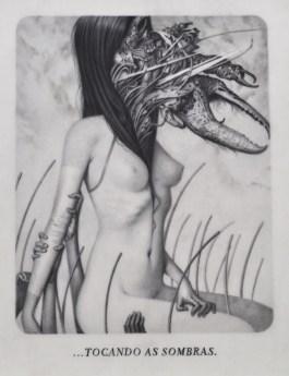 Joao Ruas, Le Sacre du Printemps VIII - Through, 2012, Graphite on Layered Paper, Vellum and Acetate, cm 28x21,5