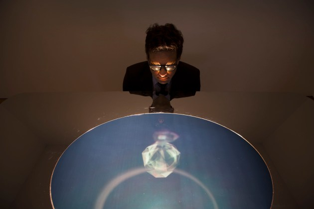 Holo Center Table by Marcus Tremonto for Swarovski, image courtesy of David Levene