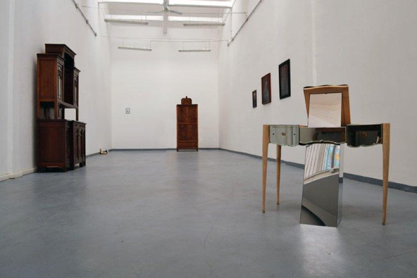 Veduta della mostra Eroismi da The Format - pic by Arianna Carossa