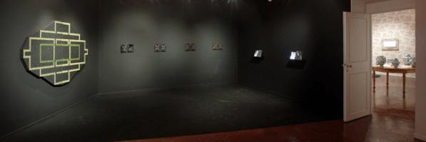 Dark room. Veduta della mostra Vincenzo Marsiglia. Experience da Emmeotto Ling Gallery, Roma. Foto: