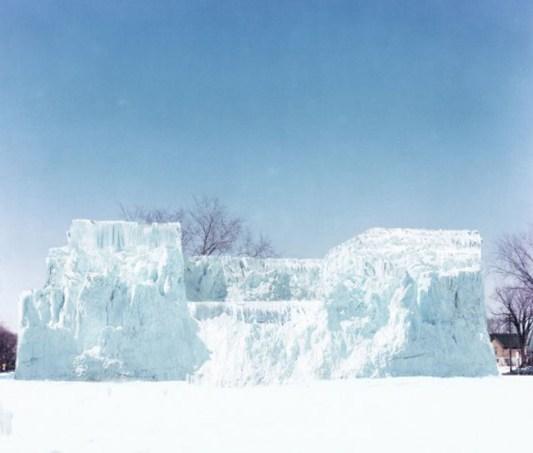 Gianni Pettena, Ice House I, Minneapolis 1971, fotografia