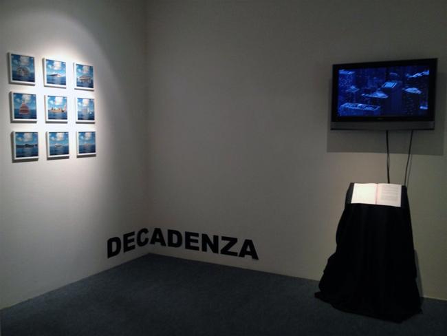 Veduta della mostra META-ARCHITETTURE di MARIA REBECCA BALLESTRA, Gallerai Spazio Testoni, Bologna
