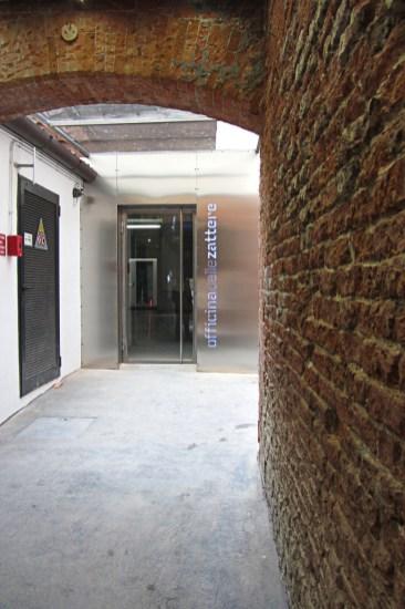 Officina delle Zattere ingresso_Squero di San Trovaso_in Fondamenta Nani_Venezia
