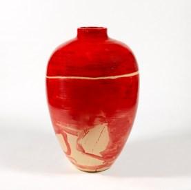 Piero Pizzi Cannella, Rosso, Ceramica, 2010-2011