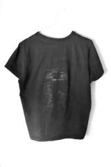 Francesca Pizzo, His Unknown Pleasures, 2012, T-shirt nera e sudore