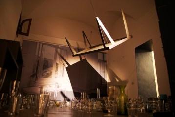 Chiara Mu, Le nozze di Mia, Roma 2012, installazione site-specific per Vetrinale