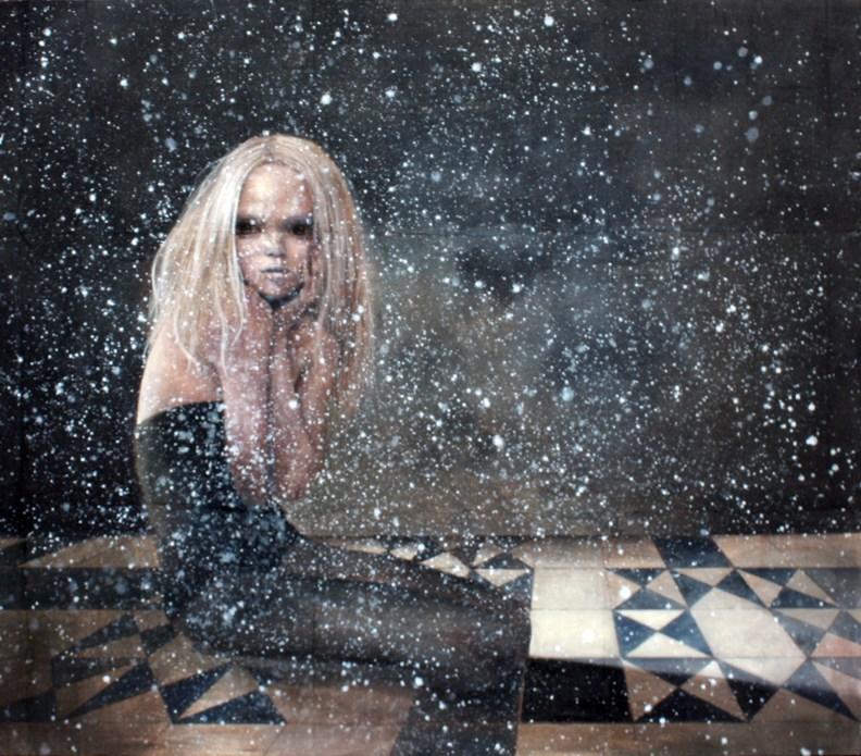 Carla Bedini, Stars, 2009, cm 95x110