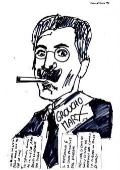 Collettivo FX, sticker, Groucho Marx