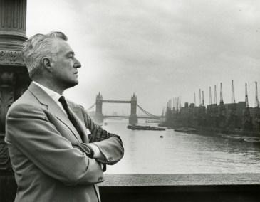 Vittorio De Sica a Londra, anni Cinquanta