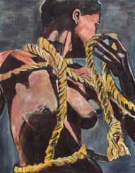 BOB DYLAN, Rope, 2012, 121.9 x 91.4 cm