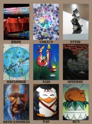 Gli artisti del progetto Street D'Ars - ArteGenova 2013