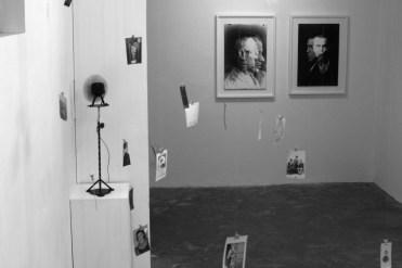 """Veduta installazione mostra Christian Fogarolli """"white"""", Arte Boccanera, Trento. Foto Andrea Turso"""