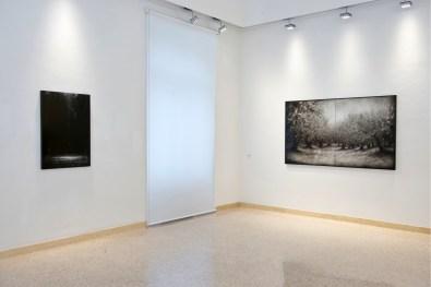 """Ettore Frani, veduta della mostra """"Attrazione celeste"""", L'Arca, Teramo. Photo Giampiero Marcocci"""
