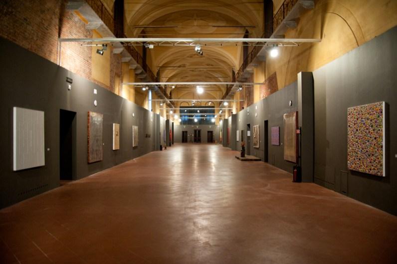 Borderline. Tra spirito e materia, veduta della mostra, Centro Culturale Santa Maria della Pietà, Cremona Foto Giovanni Badioni