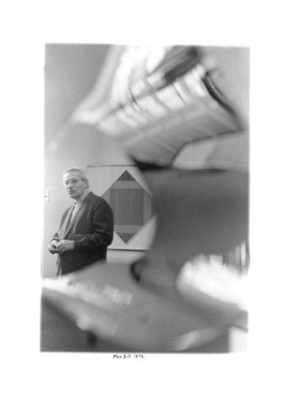 Enrico Cattaneo, Max Bill, 1972