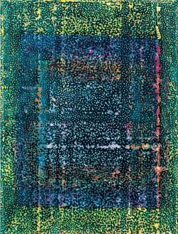 Robert Pan, 28 - ME 7,937 VE, 2009_10, resina, tecnica mista, 205 x 156,5cm