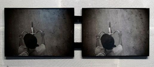 S. Motolyanets, Brat1-Brat2, fotografie, legno, 40x55 cm, 2013