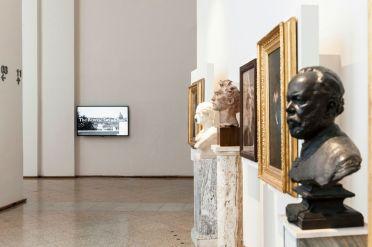 Valerio Rocco Orlando, The Reverse Grand Tour, 2012. Galleria Nazionale d'Arte Moderna e Contemporanea Roma. Foto: Sebastiano Luciano
