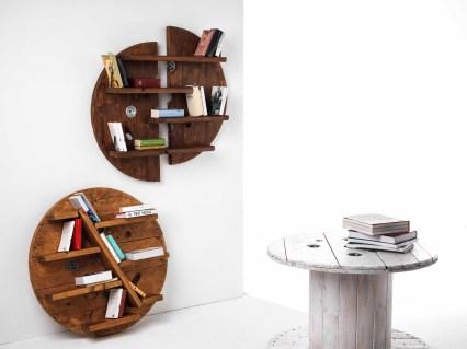 Sbobina|Design, Librerie Gargantua e Pantagruel, diametro cm 100 ciascuna