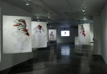 vedita della mostra The perfect stage, Bosy Contemporary, New York