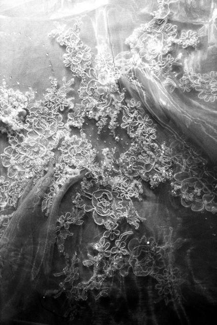 Yiqing Yin, In between, ricerca di texture e sperimentazione di ricamo organico, Padiglione Venezia
