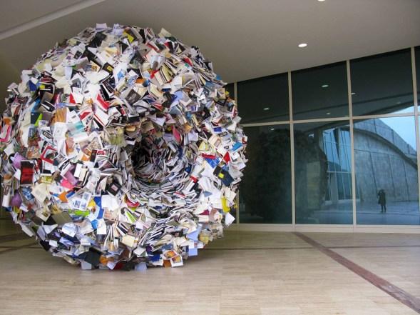 Alicia Martin, Singularidad, 2011-2012, installazione site-specific, Ciudad de la Cultura, Santiago de Compostela