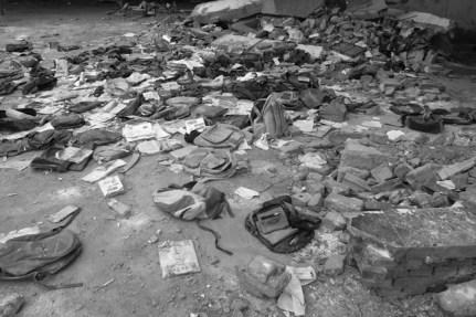 Sichuan Earthquake Photos, 2008-, 16 black-and-white photographs 20 x 13 3/5in. 50.8 x 33.8 cm, each Photo credit: Ai Weiwei