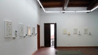 Angelo Maisto, Analogie, veduta dell'allestimento a Casa Turese