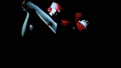 César Meneghetti, I-O opera #10 Visibility 2013 , video installation (frame da video)- a. Foto di Claudia Gambadoro