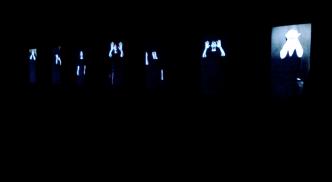 César Meneghetti, I-O opera #8 Passaggi - Paesaggi, video installation-b