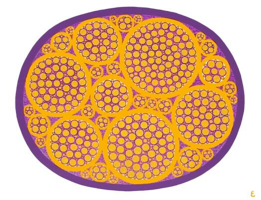 Elisa Cella, 12 C06, acrilico su tela, 65x50cm, 2012