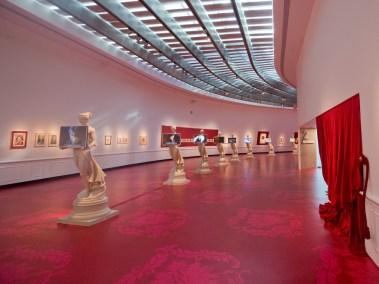 Francesco Vezzoli - Galleria Vezzoli, veduta della mostra, MAXXI, Roma ©Musacchio/Ianniello/Napolitano