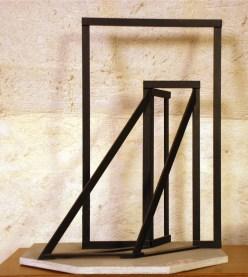 Giuseppe Uncini, Maquette. Stutturaspazio-Luce, 1967-1996, legno