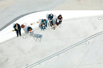 Mario Daniele, Nei Musei #1 - MAXXI Roma, - 2012, cm 40x60 - ed. 7 es. Courtesy Riccardo Costantini Contemporary, Torino