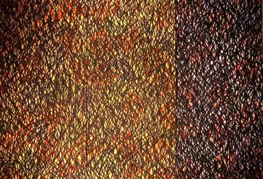 Mitsuo Miyahara, Ombra, 1996, acrilico su tela, cm 219.5x149