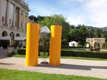 Nicola Salvatore, Tra le colonne, 2013, Villa Olmo, Como