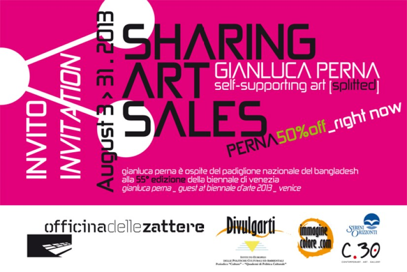 Gianluca Perna, Sharing Art Sales