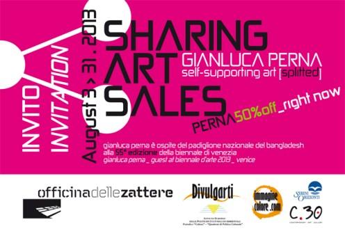 Gianluca Perna, Sharing Art Sales