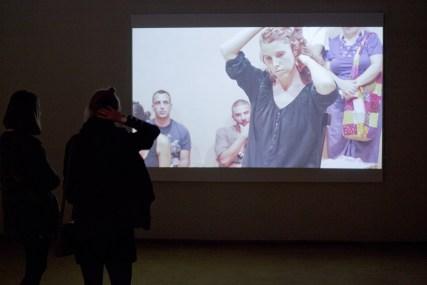 Il video della performance di Silvia Giambrone Foto Kristina Cyziute