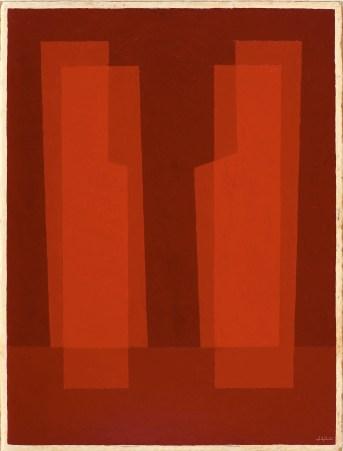 Josef Albers, Related I (Red), © 2013 The Josef and Anni Albers Foundation/Artists Rights Society New York