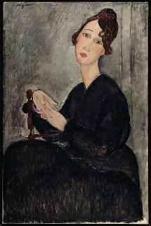 Amedeo Modigliani, Ritratto di Dédie, 1918, olio su tela, cm 92x60 (AM 3974 P) © Service de la documentation photographique du MNAM - Centre Pompidou, MNAM-CCI/Dist. RMN-GP