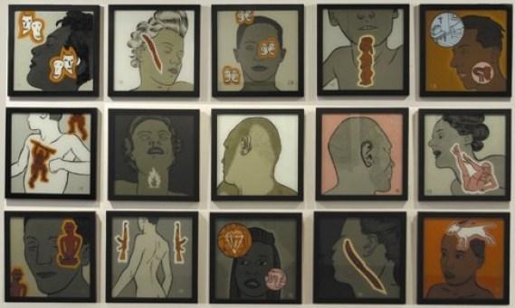 Conrad Botes, The long white sleep, installazione. Courtesy L'ARIETEartecontemporanea, Bologna