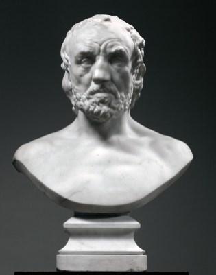 Auguste Rodin, L'uomo dal naso rotto, 1874-1875 © Musée Rodin, Parigi. Foto di Christian Baraja