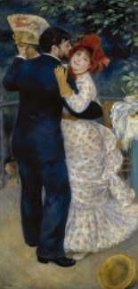 Pierre-Auguste Renoir, Danse à la campagne, 1883, olio su tela, 180.3x90 cm, Musée d'Orsay, Parigi (RF 1979 64) © Bridgeman / Archivi Alinari