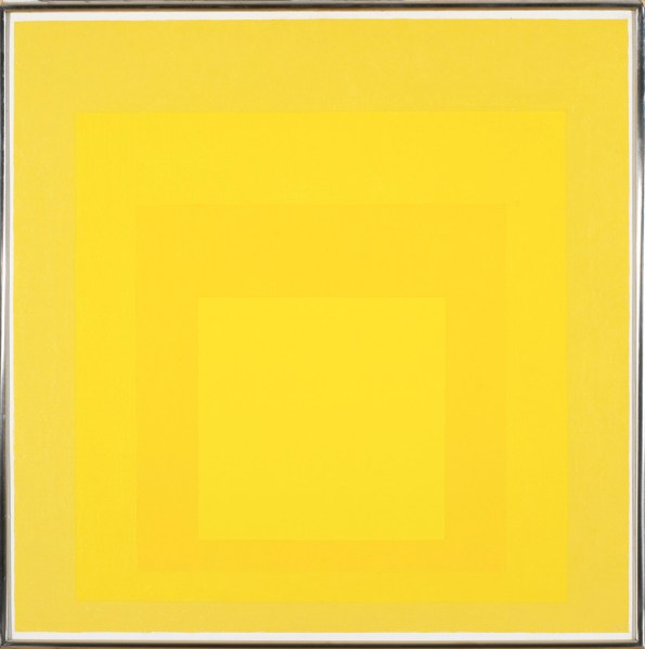 Josef Albers, Homage to the Square, 1967 © 2013 The Josef and Anni Albers Foundation / Artists Rights Society New York