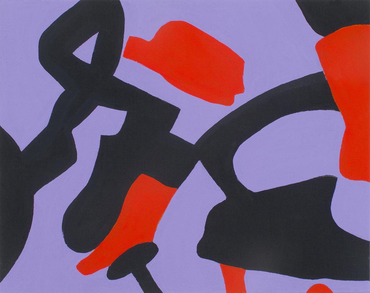 Carla Accardi, Viola rosso, 2011, cm 40x50 Courtesy Mars, Milano