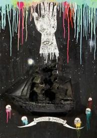 Cristiano Carotti, Homeward Bound, 2013, teca materiali vari, cm 50x70x25 - Galleria Canovaccio